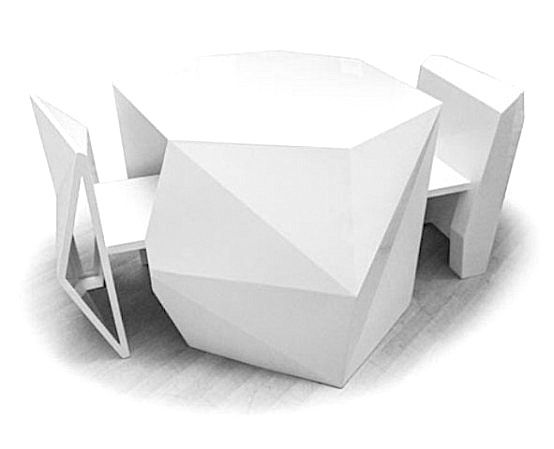 AndViceVersa presents A-Cute, a set of furniture that includes two