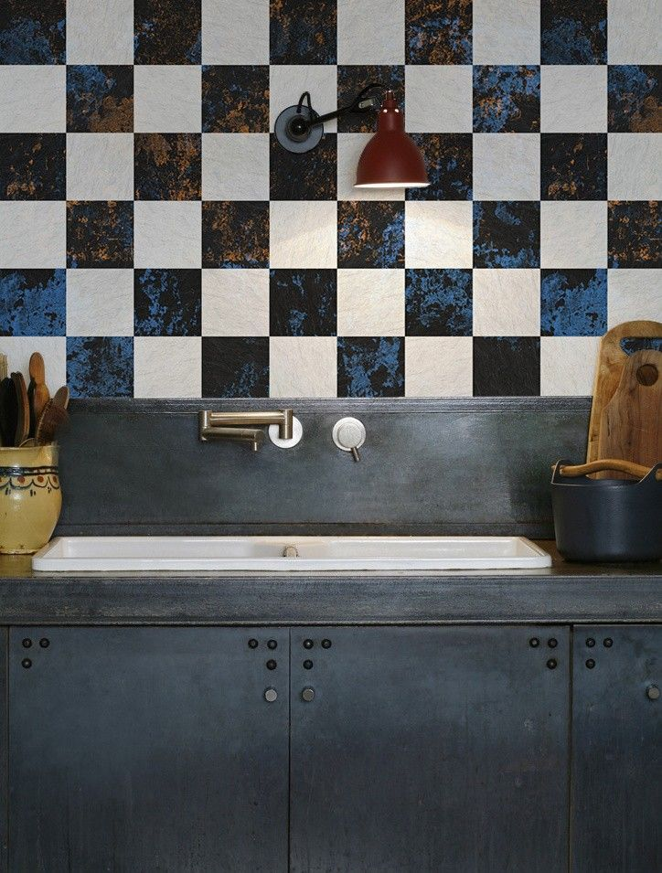 The Instant Backsplash Waterproof Wallpaper From The Netherlands