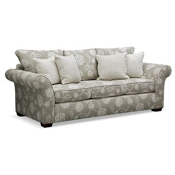 Beau Adele Upholstery Sofa   Value City Furniture $599.99