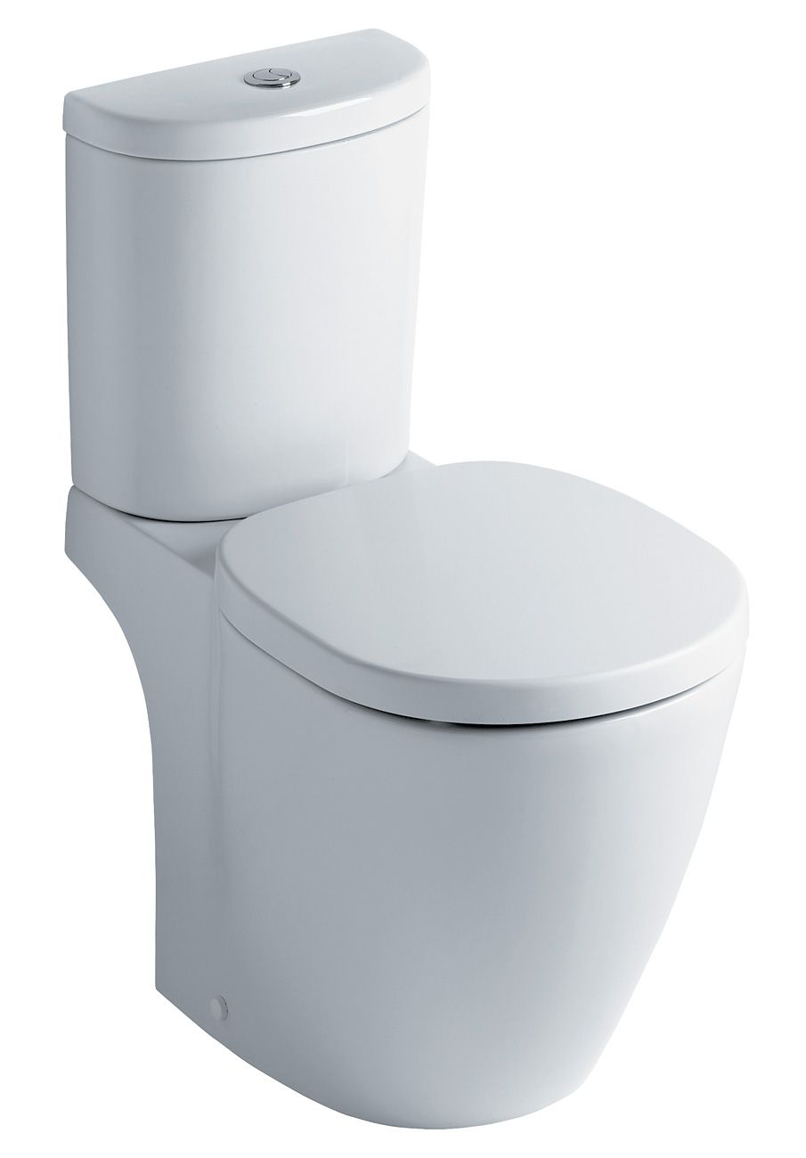 Ideal Standard Concept Arc - Sphere Close Coupled WC Bowl Only ...