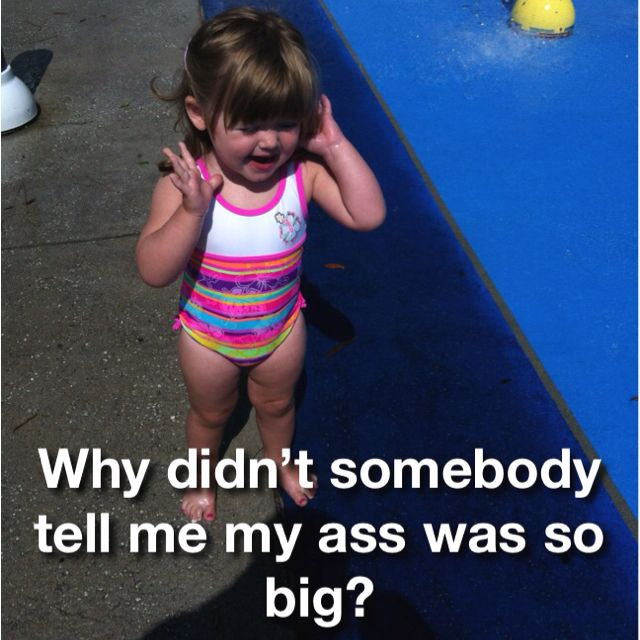 My neice at the splash pad! Too funny!