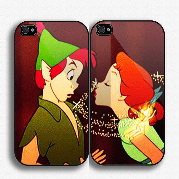 peterpan and wendy Couple Case iPhone case for iPhone by SegoPecel, $33.25