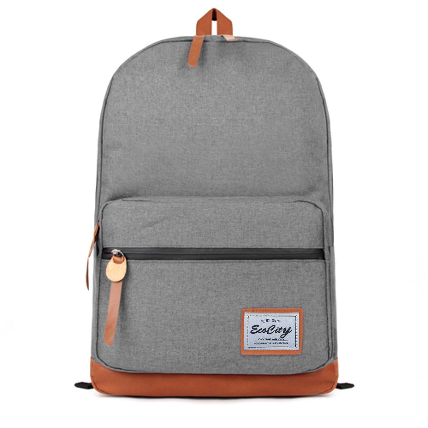 ecocity unixex quality classic back pack vintage style