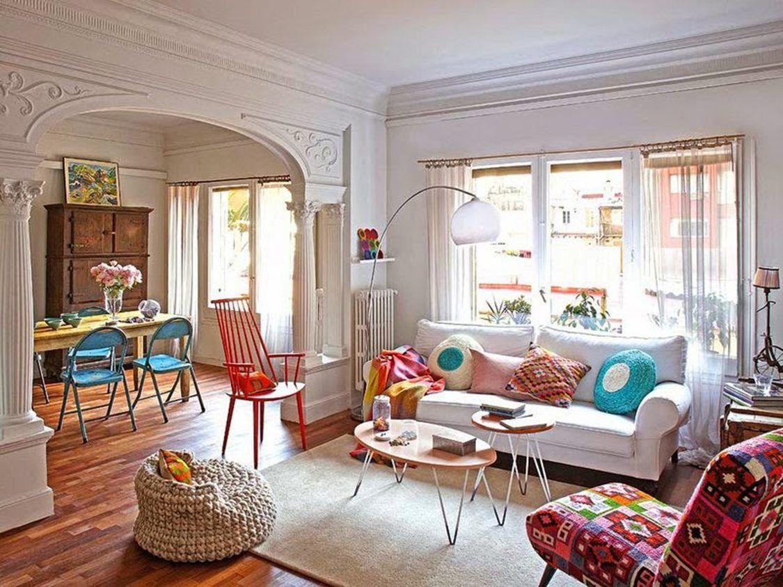 Image Result For Boho Chic Living Room