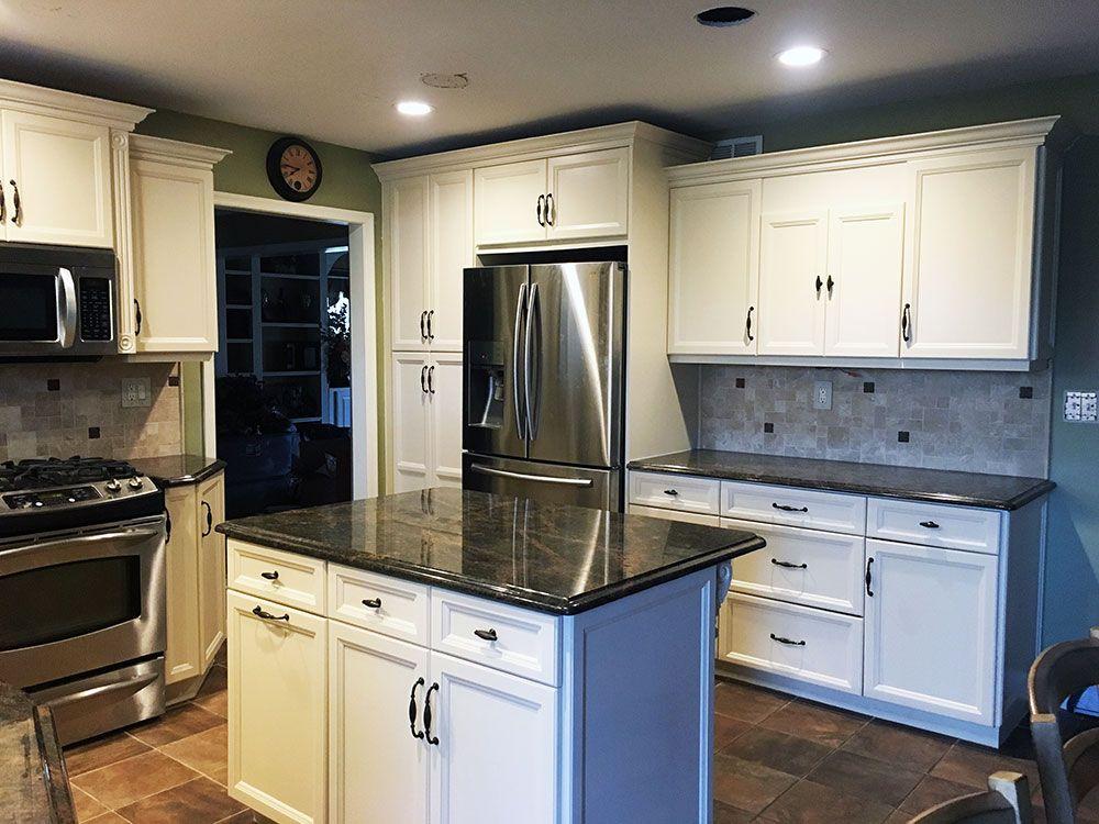 Kitchen Cabinet Refinishing & Painting   Kitchen cabinets ...