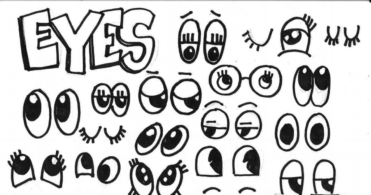 Eyes And Mouth Pdf Eyes Cassie Stephens Math