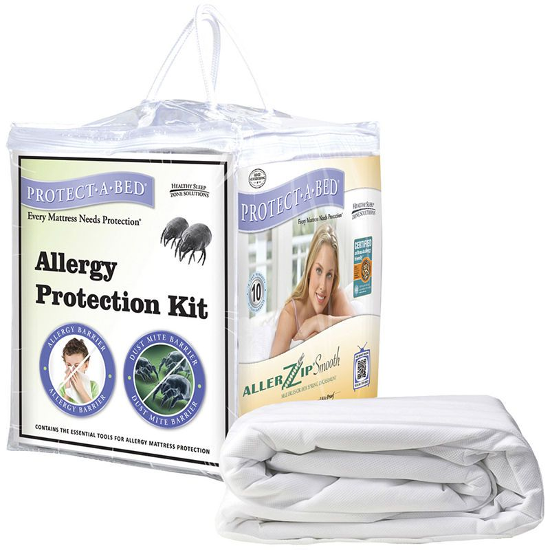 Protect A Bed Twin Xl Protection Kit Mattress Protector Dust Mites Allergies