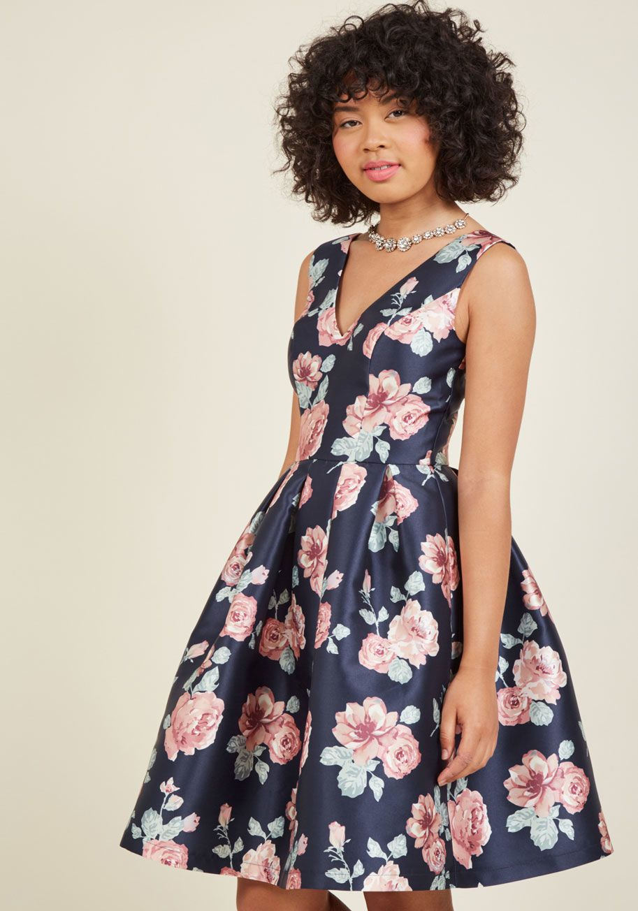 Sweetly Celebrated Fit And Flare Dress Dresses Pretty