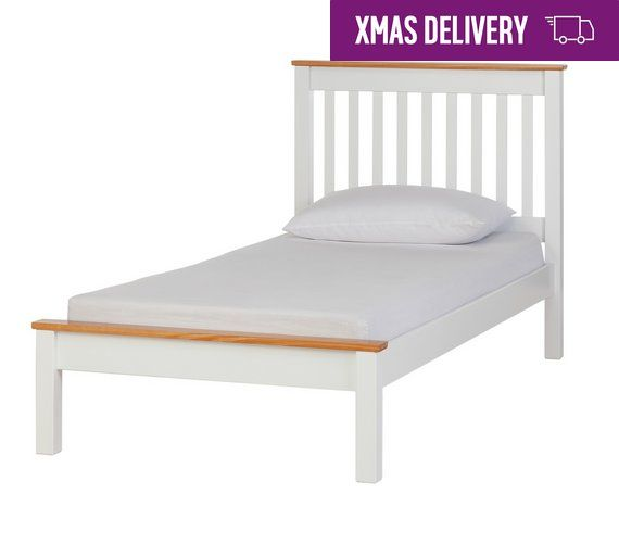 Buy Collection Aspley Single Bed Frame Two Tone At Argos Co Uk