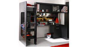 die besten 25 kinderhochbett mit schreibtisch ideen auf pinterest etagenbett schreibtisch. Black Bedroom Furniture Sets. Home Design Ideas