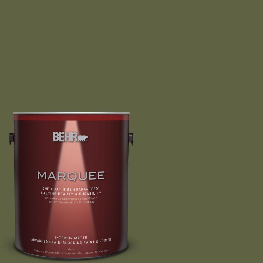 BEHR MARQUEE 1 gal. #T11-16 Fjord Matte Interior Paint