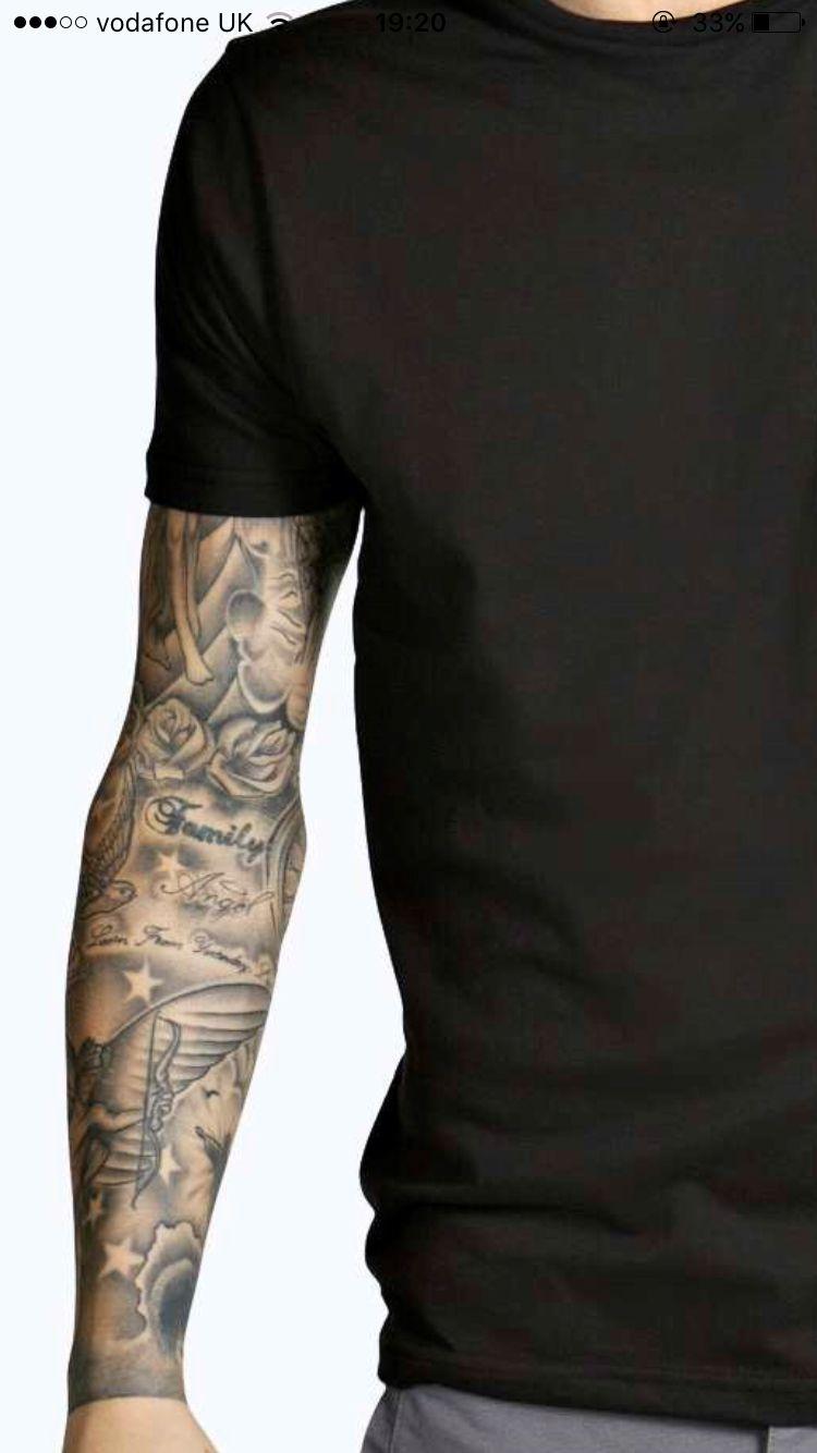 Tattoo Sleeve Hihatatuoinnit Tatuoinnit Tatuointi