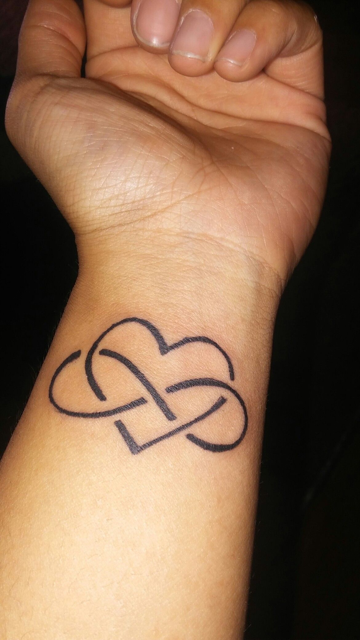 Infinity Love Tattoos Pictures infinity love tattoo on wrist. my first ink | tattoo ideas