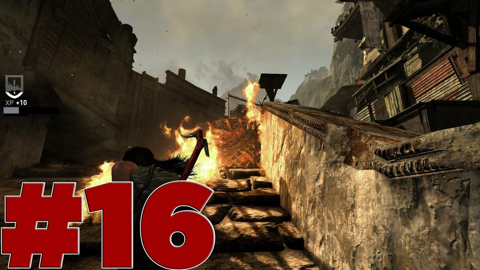 Tomb Raider Definitive Edition Ps4 Part 16 Let S Play Walkthrough Tomb Raider Tomb Raiders