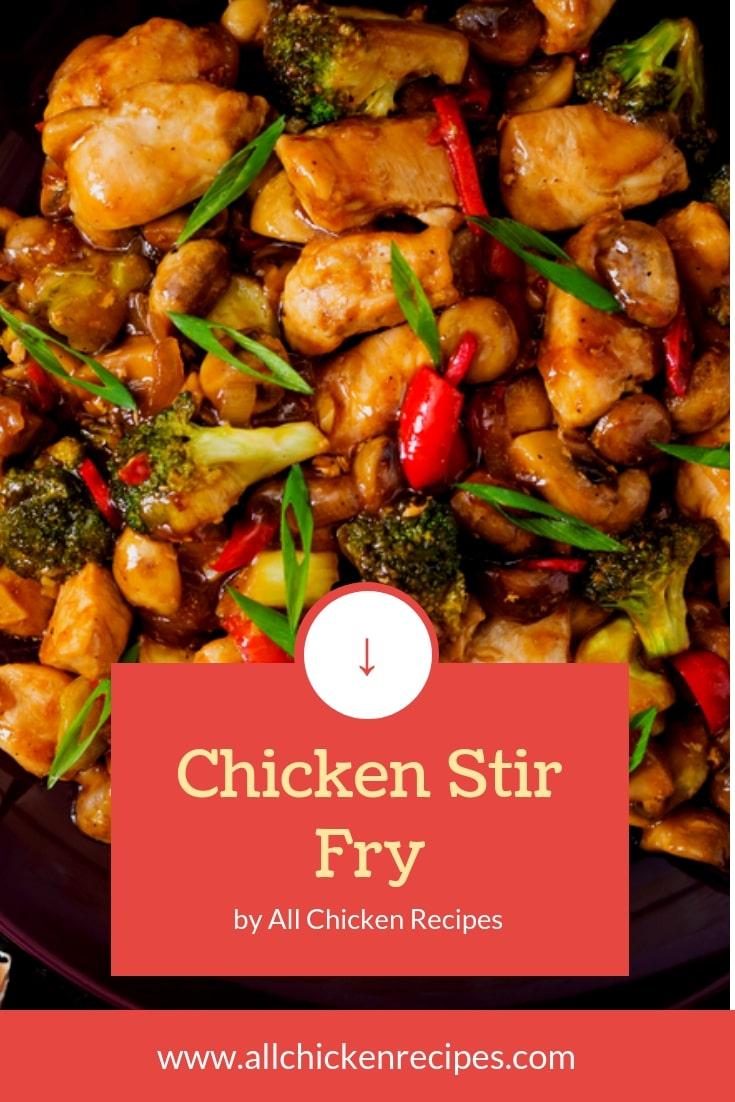 Chicken Stir Fry Recipe Stir Fry Chicken Allchickenrecipes Com Recipe Stir Fry Recipes Chicken Chicken Stir Fry Recipes