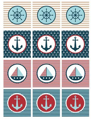 Nautical Baby Shower Printables -   24 nautical decor printable