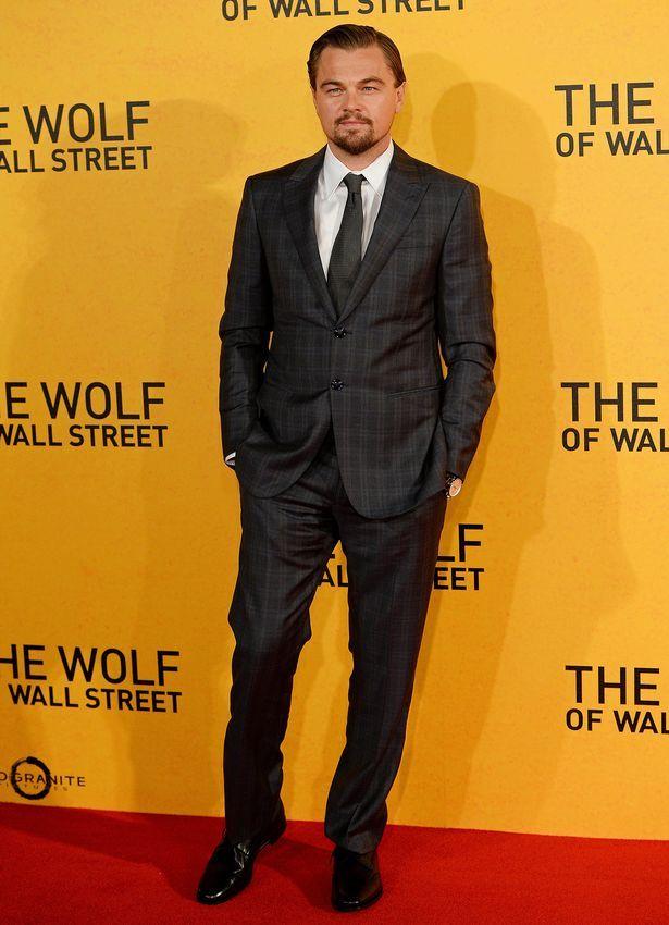 Leonardo DiCaprio wearing Giorgio @armani – \'The Wolf Of Wall Street ...