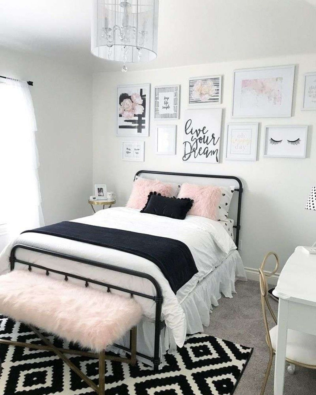 Image Result For Black White Gray And Gold Bedroom For Teens