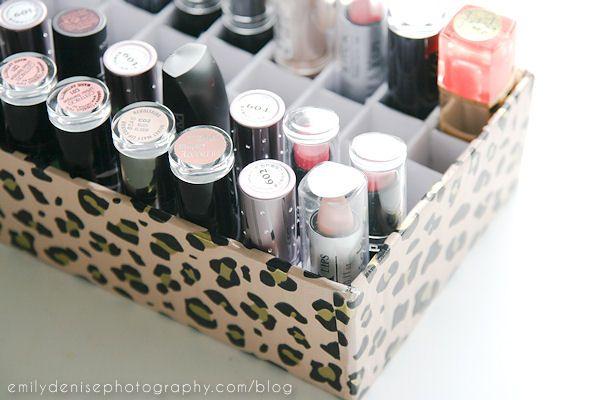 Modern Tips For The Tidiest Home Ever Diy Lipstick Holder Diy