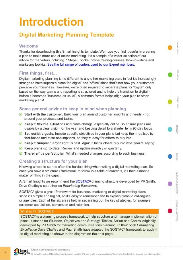 Image result for multi media campaign report template Campaign - making smart marketing plan