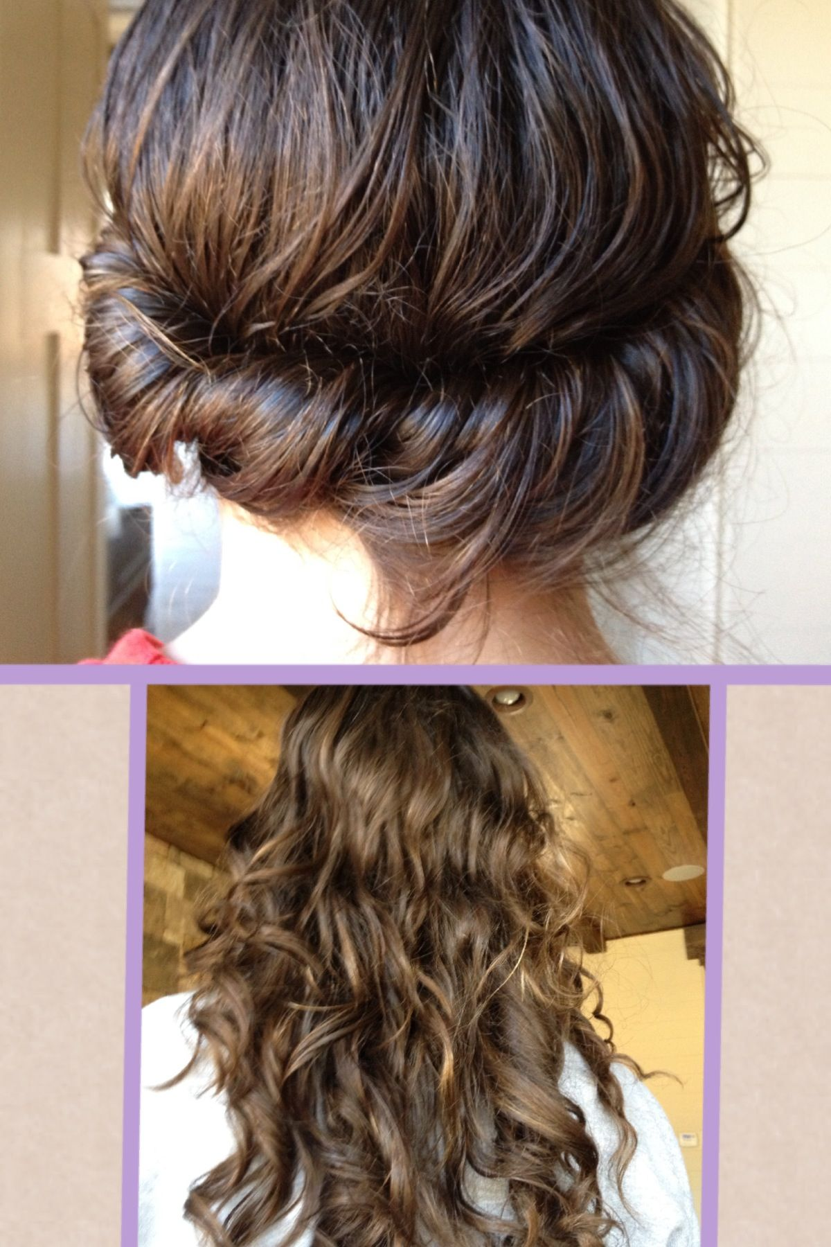 No heat curls! | Curls no heat, Hair styles, Long hair styles