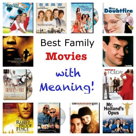 Best Family Movies With Meaning Though I Do Remember My Shocked Mother Talking About How Super Inropriate The Love Scene In Was Since Main