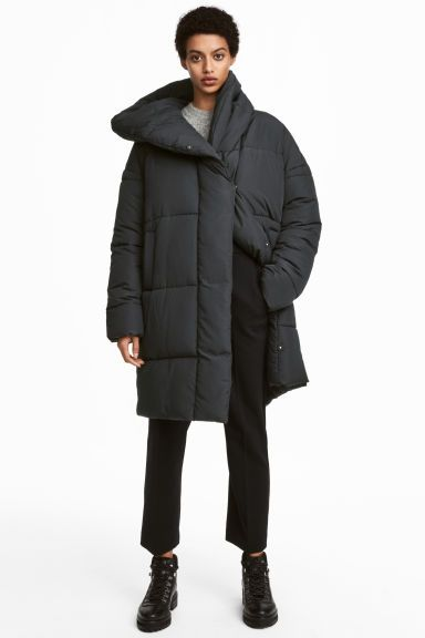 choose clearance men/man big discount of 2019 Padded jacket - Black - Ladies | H&M | Clothes. | Padded ...