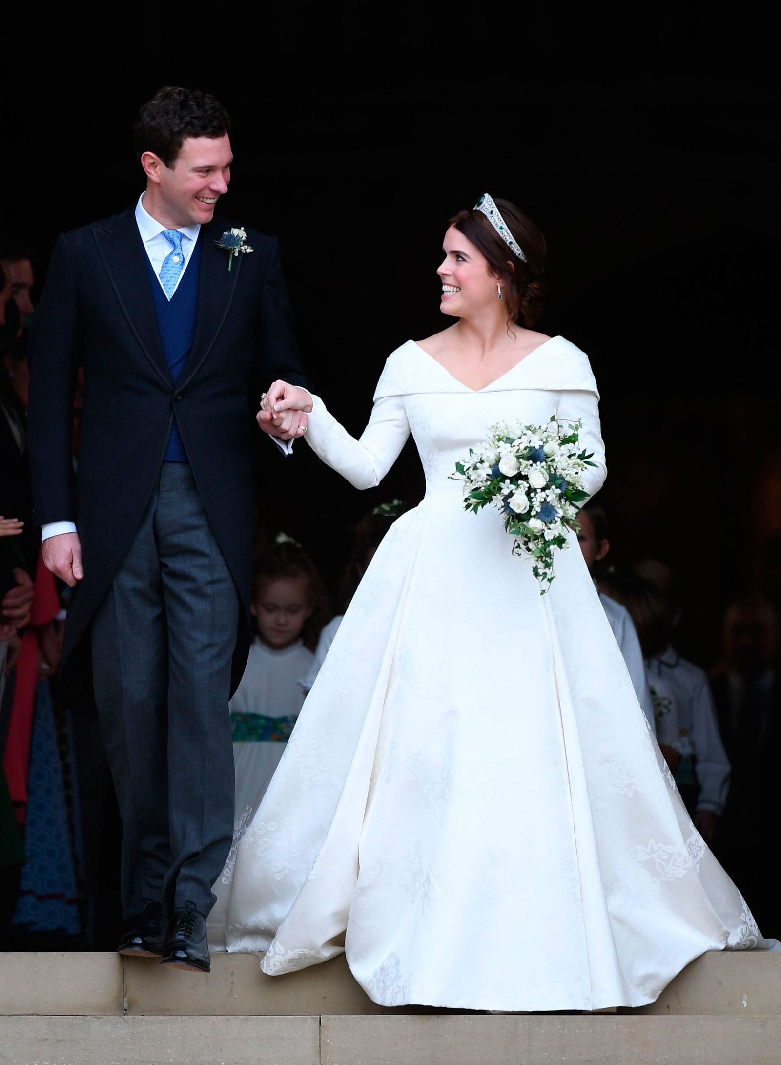 Princess Eugenie S Wedding In Pictures Eugenie Wedding Second Wedding Dresses Wedding Dresses [ 2181 x 1600 Pixel ]