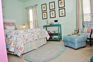 Cottage Home - eclectic - bedroom - charlotte - Dwell by Cheryl Interiors