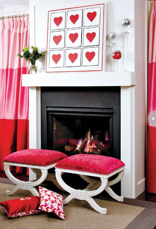 40 Hot Red Valentine Home Dcor Ideas