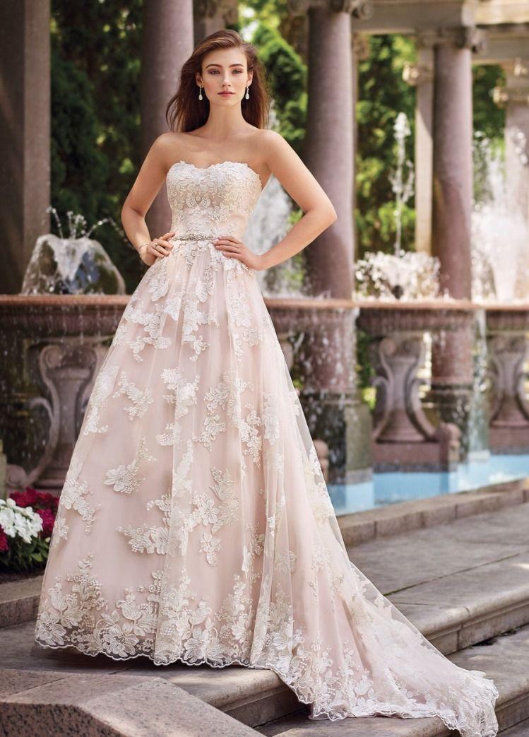 117276 By Martin Thornburg In 2020 Wedding Dresses Lace Making A Wedding Dress Pink Wedding Dresses,Dress As Wedding Guest