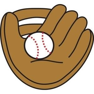 baseball mitt clipart simple sports clipart pinterest clip art rh pinterest co uk