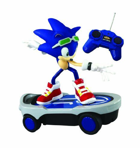 Amazon Com Nkok Sonic Free Rider R C Sonic Toys Games Sonic Free Riders Sonic Sports Games For Kids