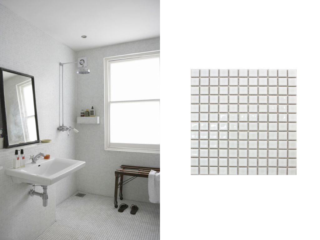 WEST END COTTAGE: Bathroom Floor Tiles | Bathrooms | Pinterest ...
