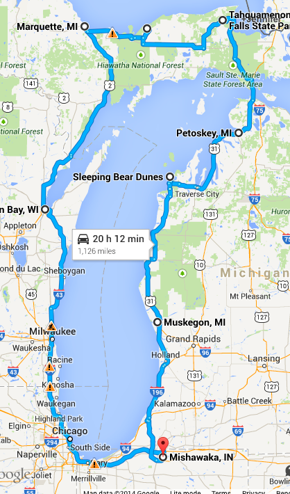 Circletour2014 Michigan Road Trip Michigan Travel Trip