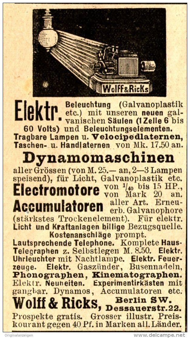 Anbieter Originalanzeigen / Alte Papiere - Delcampe.net