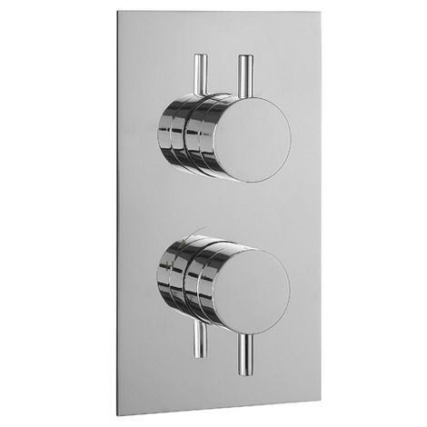 Metro thermostatic shower valve