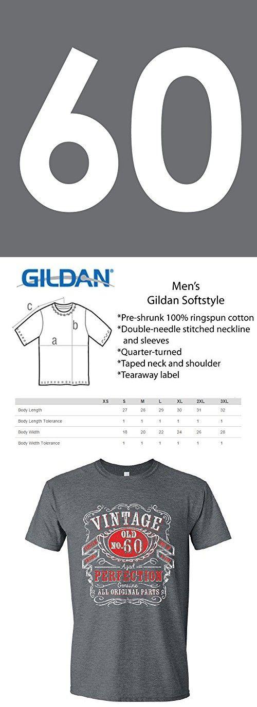 60th Birthday Shirts For Him Sixtieth Gifts Gray 2XL