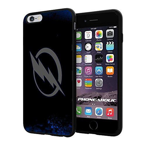 "NHL HOCKEY Tampa Bay Lightning Logo, Cool iPhone 6 Plus (6+ , 5.5"") Smartphone Case Cover Collector iphone TPU Rubber Case Black Phoneaholic http://www.amazon.com/dp/B00VTUPWHG/ref=cm_sw_r_pi_dp_ub1nvb0S8CVJR"