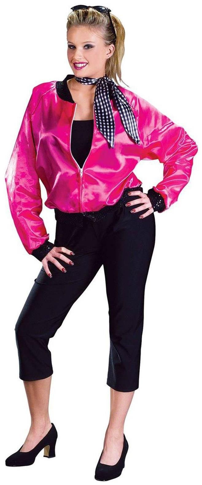 PartyBell.com - Pink Ladies Complete Adult Costume #ValentinesDayCostume