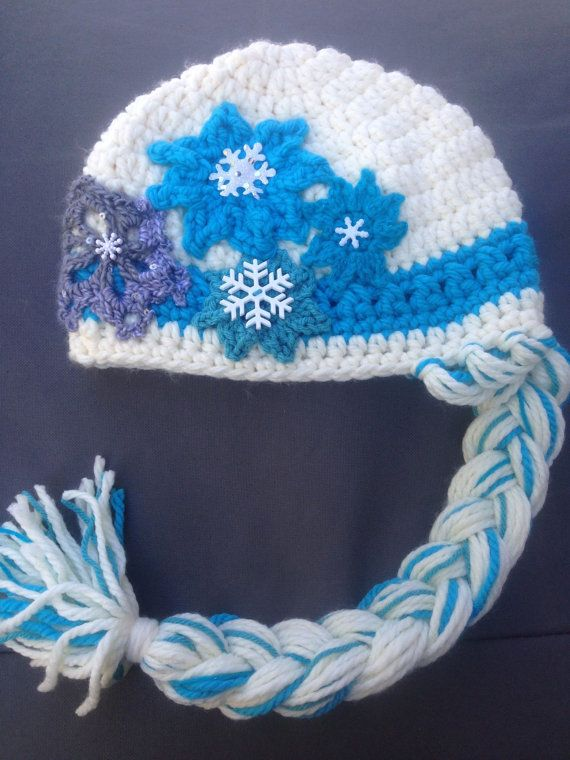 Frozen Inspired Elsa Hat Pattern - PDF Instant Download - Kids Small ...