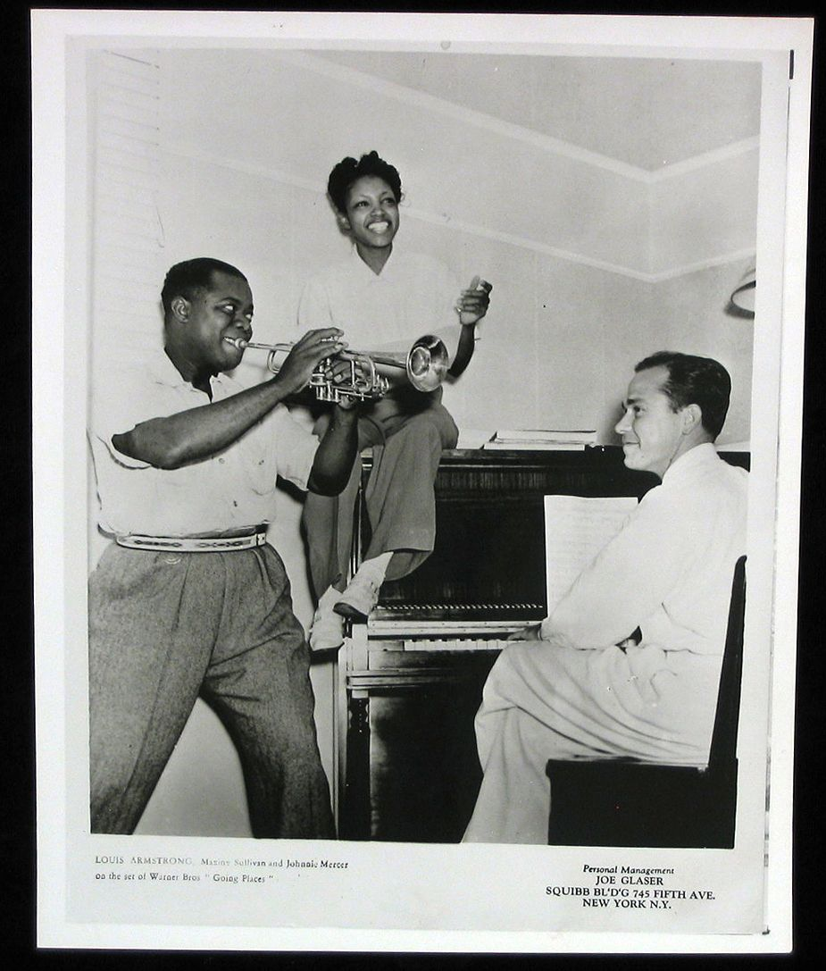 Louis Armstrong Maxine Sullivan Johnny Mercer American Songs