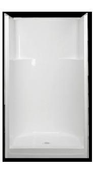 Florestone Model 54 3w Fiberglass Shower Fiberglass Shower