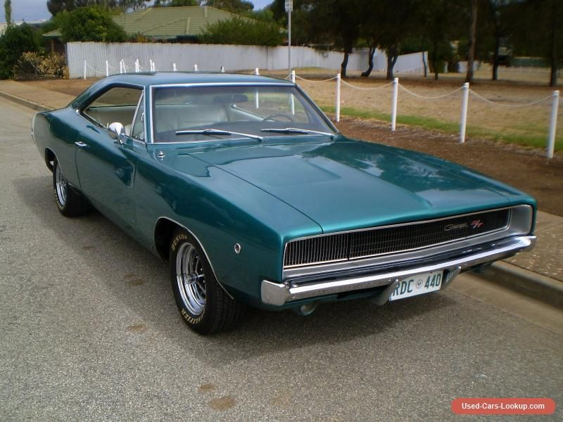 1968 R/T 440 Dodge Charger. Chrysler Mopar #chrysler #charger ...