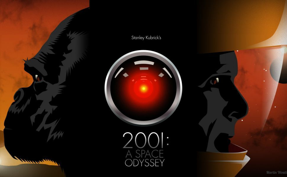 Kubrick Hd Wallpaper 2001 A Space Odyssey Film Icon