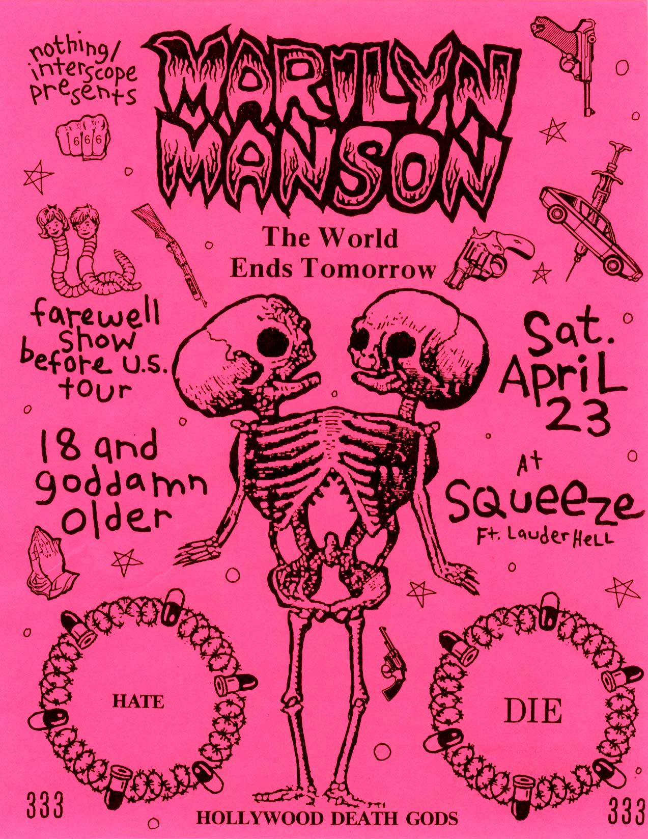 Marilyn Manson Australian 2 Sheet Promo Poster Hollywood Album 2000 152 X 102cm Click Pic To Find In Ebay Store Poster Music Poster Concert Posters