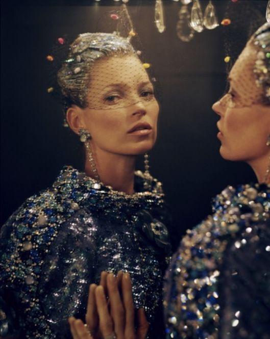 Y133191693227539_1 Kate Moss, fez um belissimo editorial para a Vogue USA de Abril.