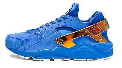 sports shoes b0664 98224 ... store undefeated x nike air la huarache run blue suede size 10 lowrider  9757e 83ad5