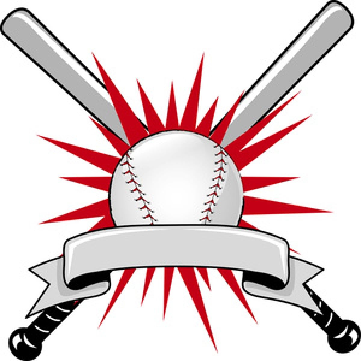 Sports baseball. Theme banner