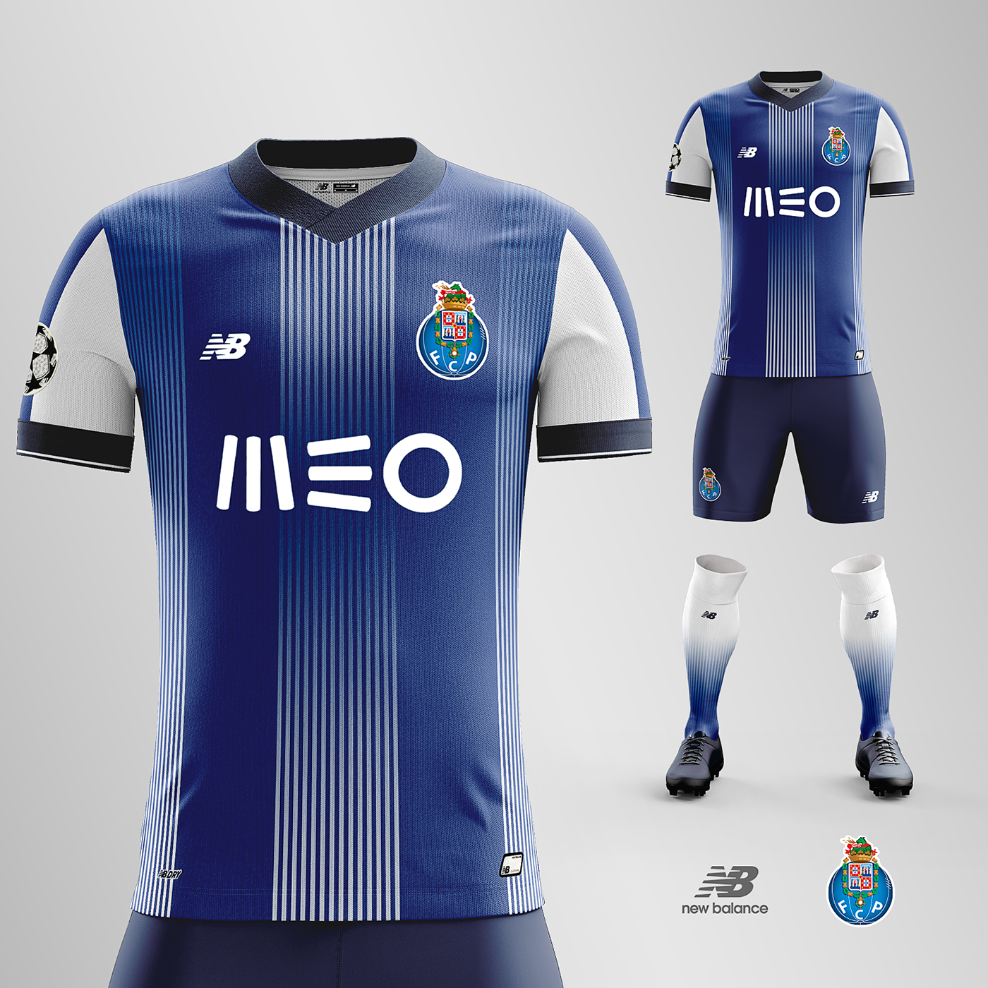 FC Porto | Home Kit Concept | Portugal - First League
